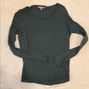 Banana republic sage green sweater